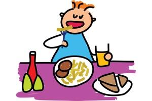 Правила поведения за столом для маленьких детей
