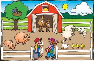 Обитатели фермы